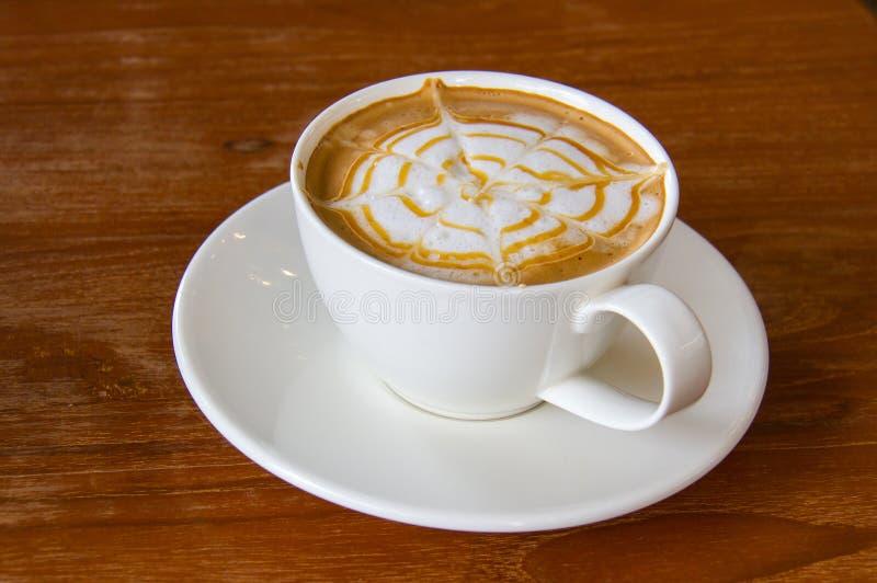 Latte咖啡 免版税图库摄影