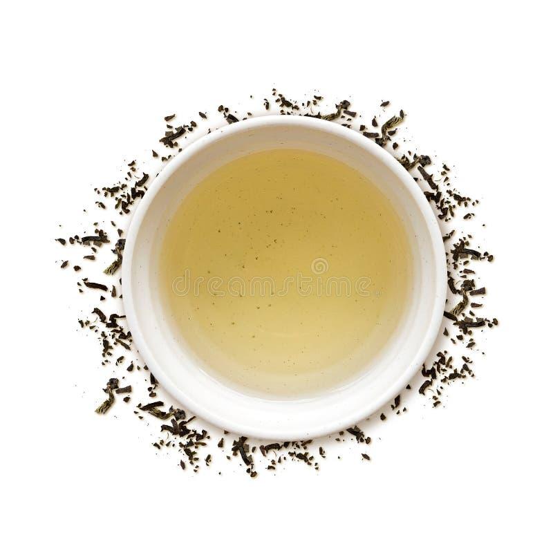 Latte зеленого чая стоковая фотография rf