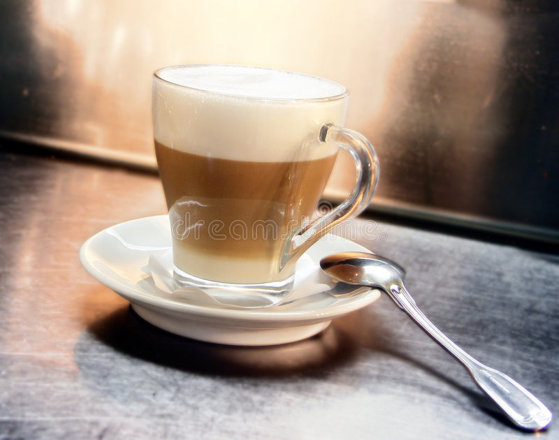 Latte lizenzfreie stockfotos