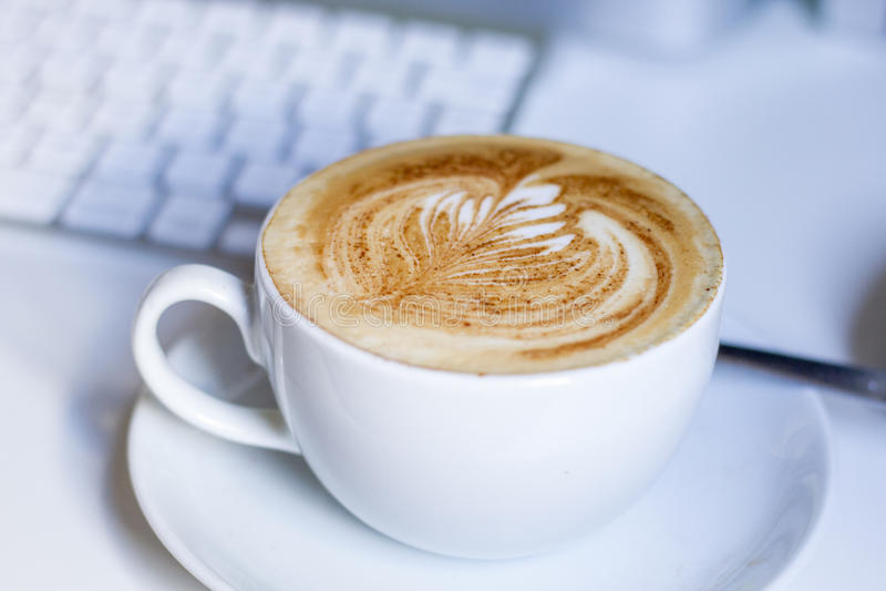 Latte royaltyfri bild