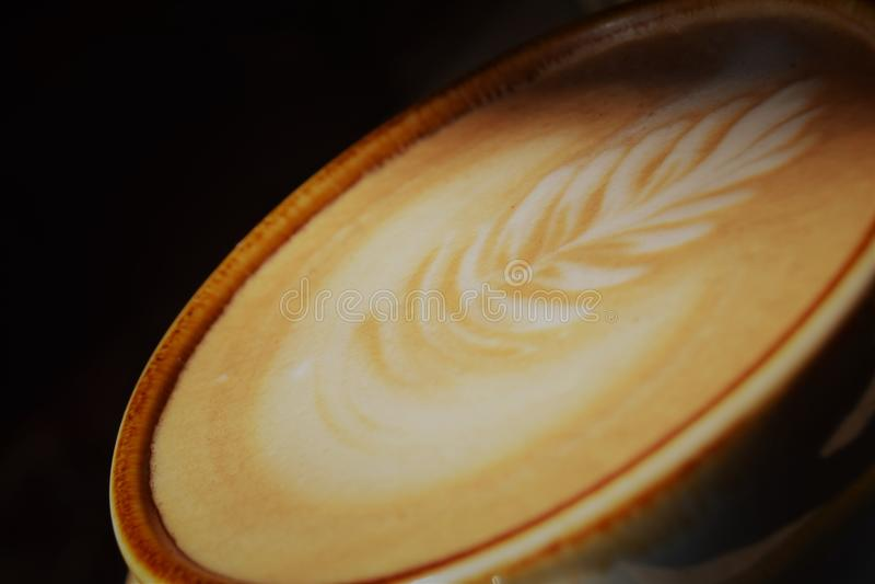 Latte Art stock images