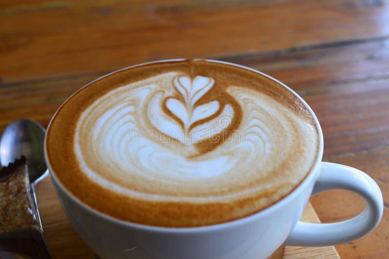 Latte Art Coffee stock foto's