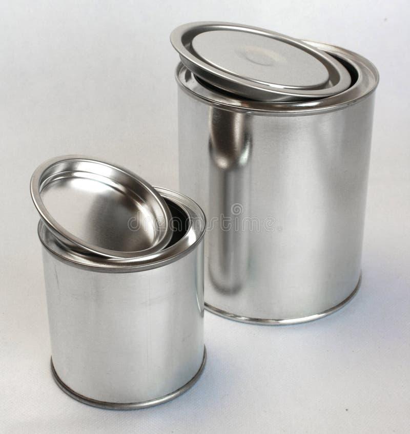 Latte brillanti del metallo per vernice immagine stock - Vernice a specchio ...