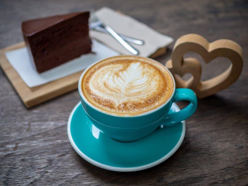 Latte coffee royalty free stock photos