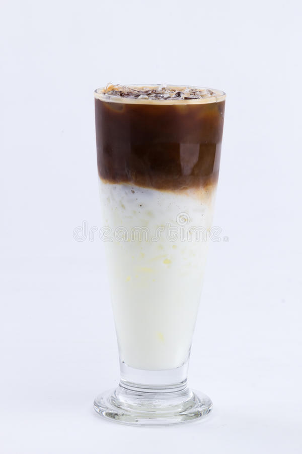 Latte congelado foto de stock royalty free