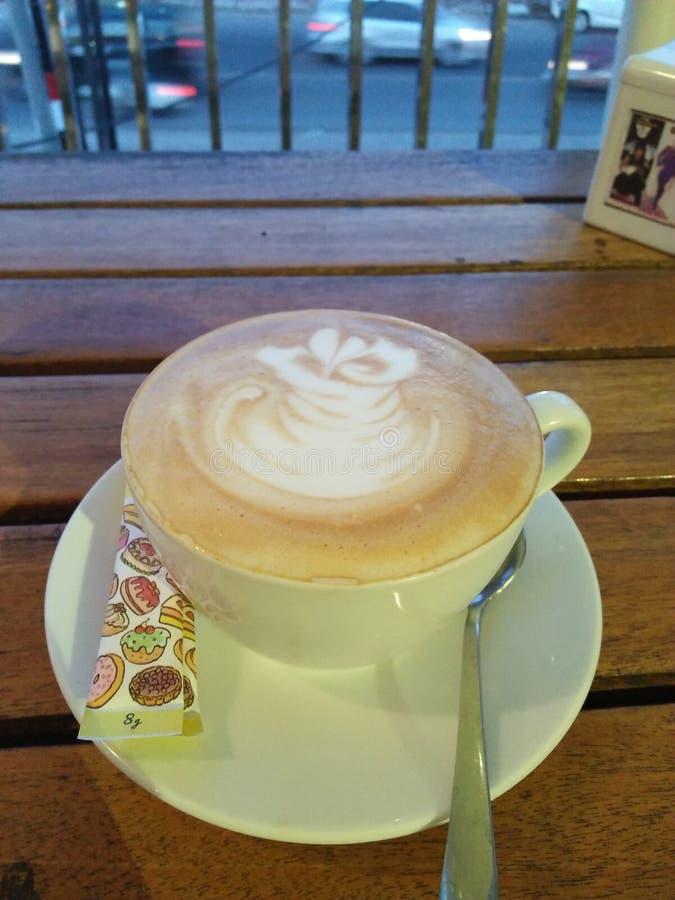 Latte de café images libres de droits