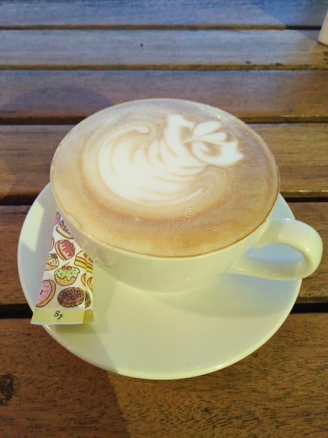 Latte de café photographie stock libre de droits