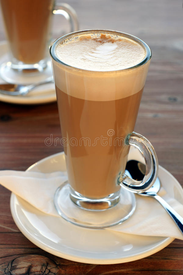 Latte de café image stock