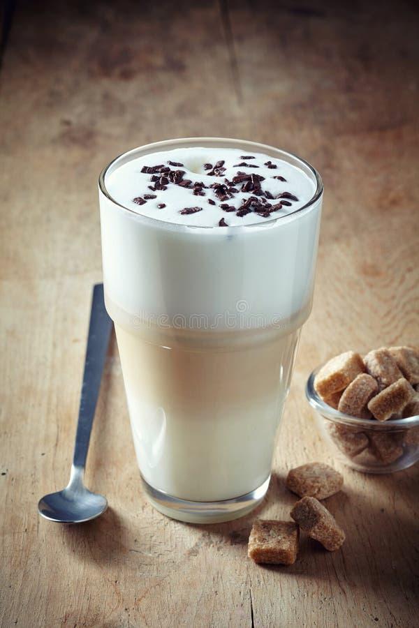 Latte de café photo libre de droits