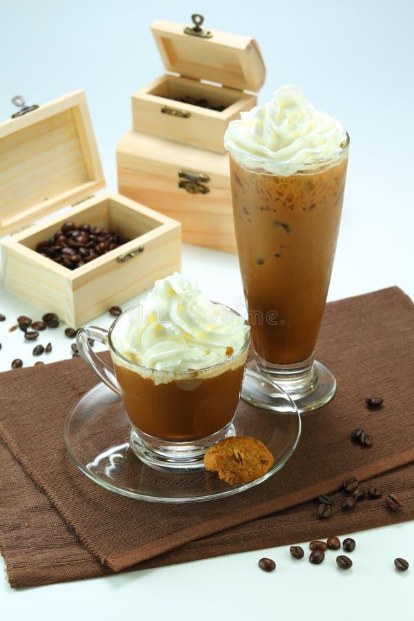 Latte de café photographie stock
