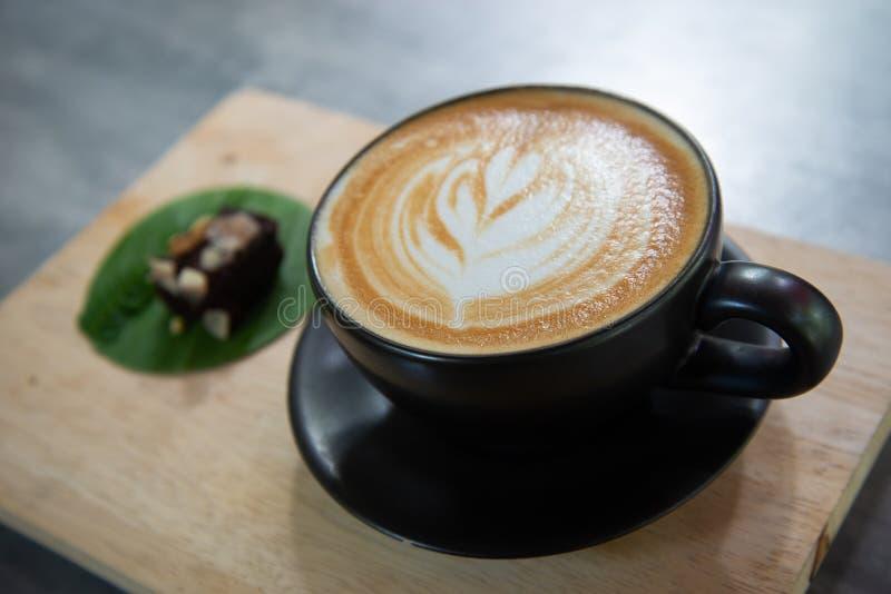 Latte de Caffe images libres de droits