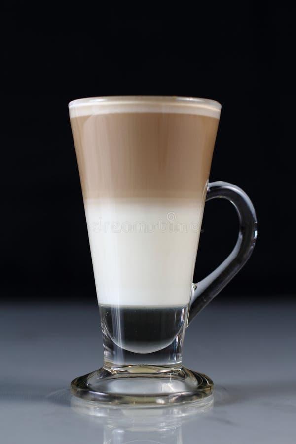 Latte de Choco avec du lait image libre de droits