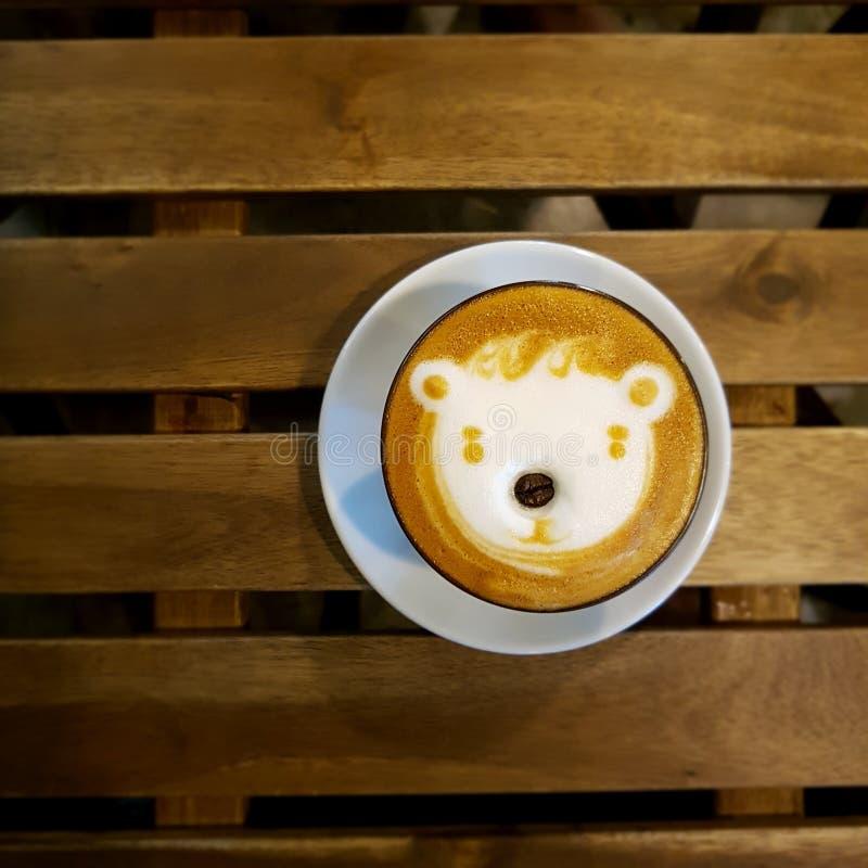 Latte del café imagen de archivo libre de regalías