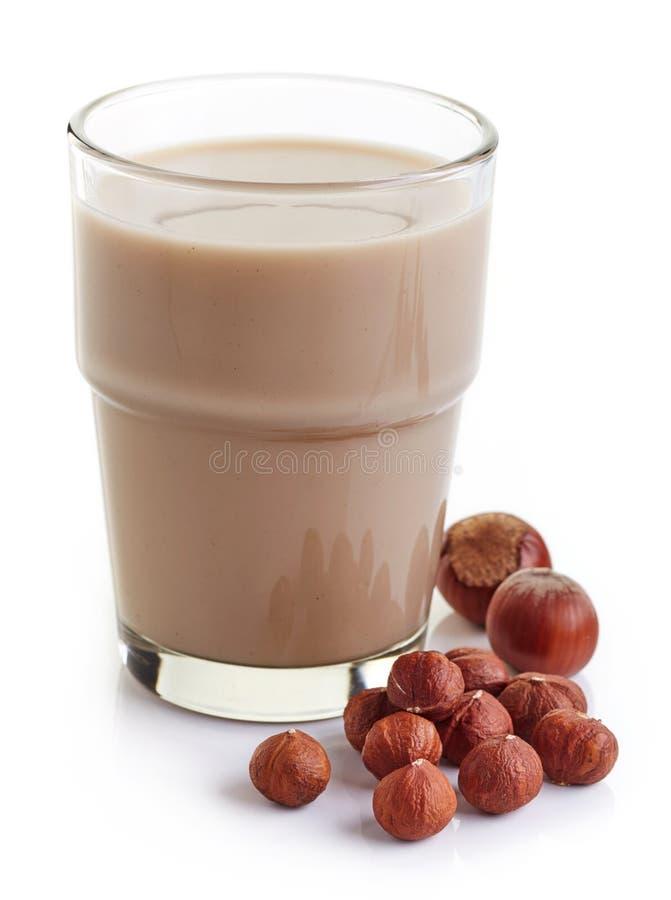 Download Latte della nocciola immagine stock. Immagine di nutrizione - 56879845