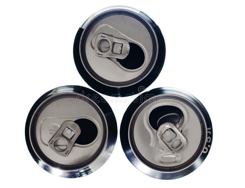 Latte di alluminio fotografie stock