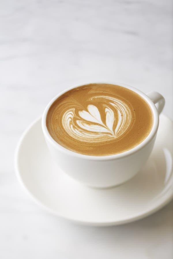 Latte do café fotografia de stock royalty free