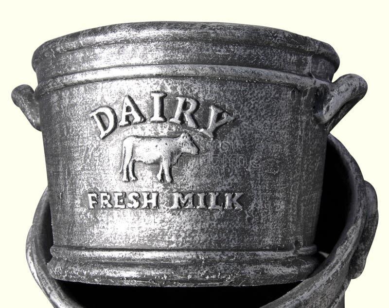 Latte fresco della latteria immagini stock libere da diritti
