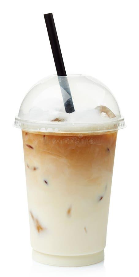 Latte helado del café fotografía de archivo libre de regalías