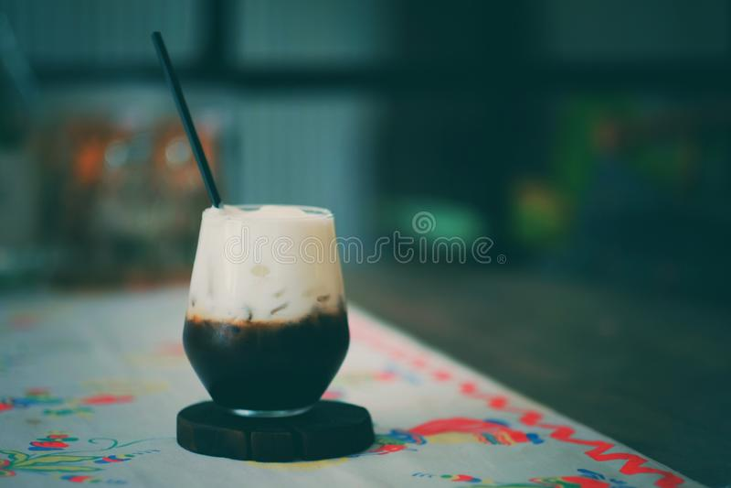 Latte Kaffee lizenzfreie stockfotos