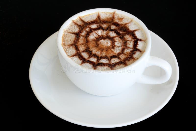 Latte-Kunst/Kaffee stockfoto
