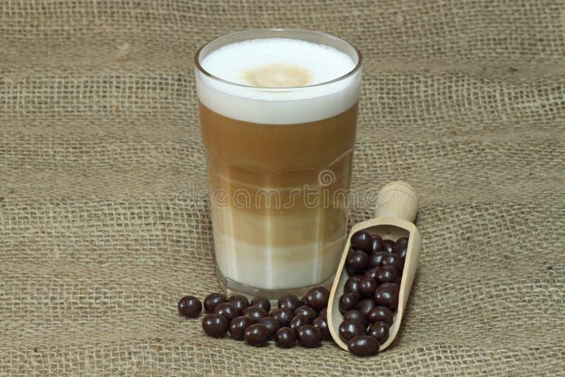latte macchiato obrazy royalty free