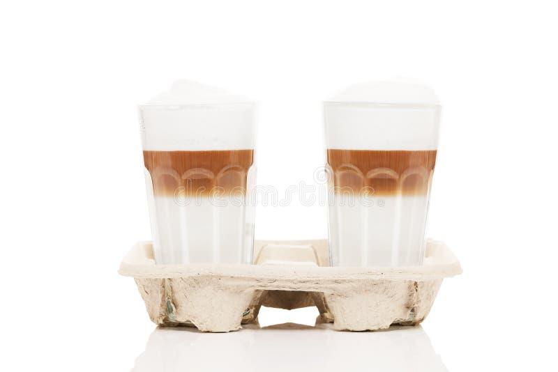 Download Latte macchiato to go stock image. Image of to, espresso - 29810697