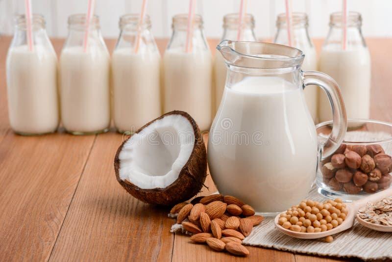 Latte senza lattosio immagine stock libera da diritti