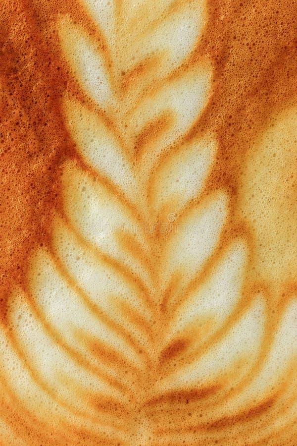 Latte sztuki kawa obraz stock