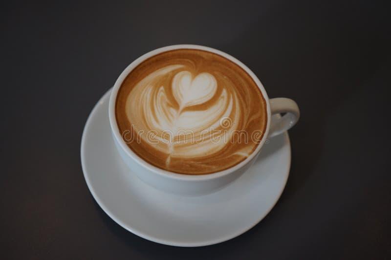 Latteart. royalty-vrije stock foto