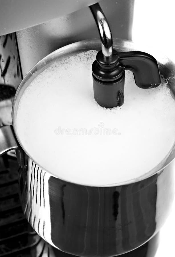lattemorgon royaltyfri bild