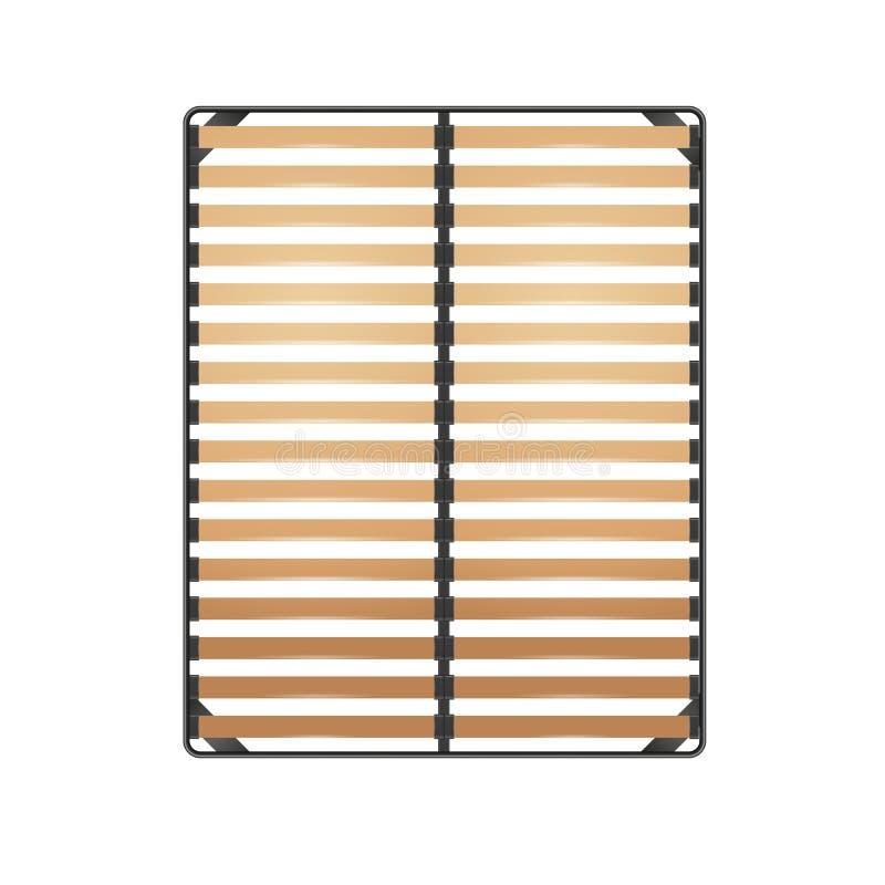 Latten-Bett-Rahmen vektor abbildung. Illustration von element - 93796967