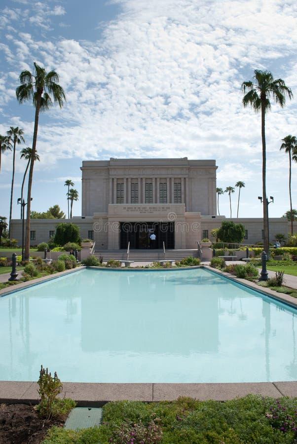 Latter-day Saints Temple royalty free stock photo