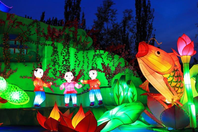 Latternfestival stock fotografie