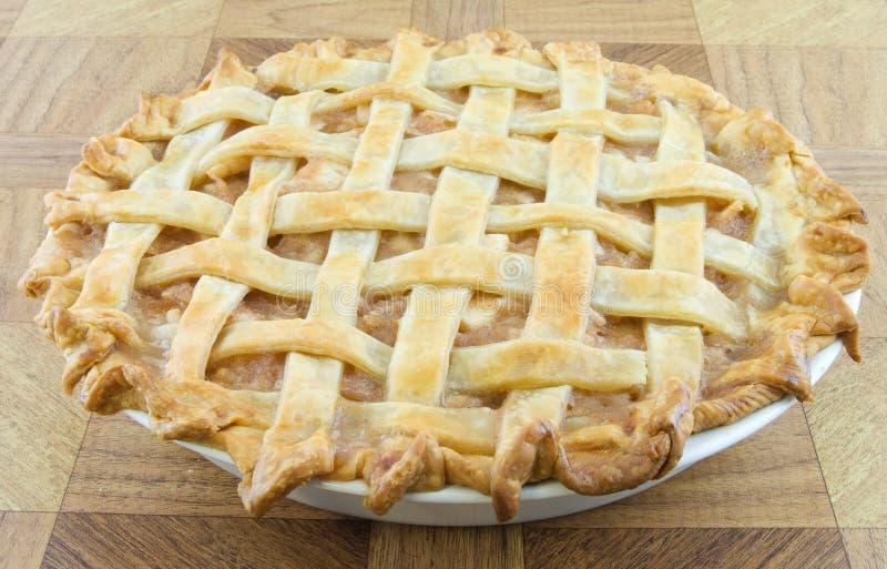 Lattice Apple Pie royalty free stock photography