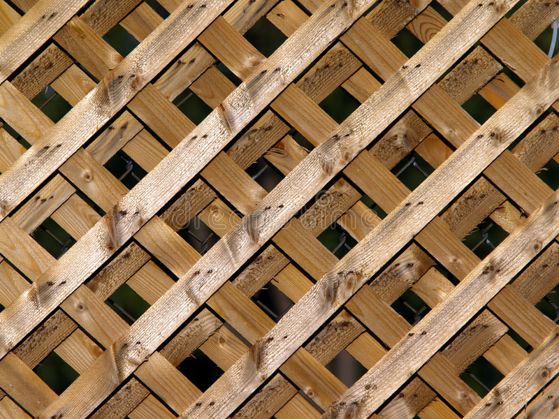 lattice trä royaltyfria bilder