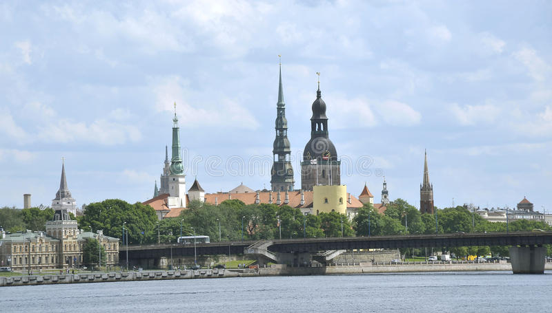 latvia Riga fotografia stock