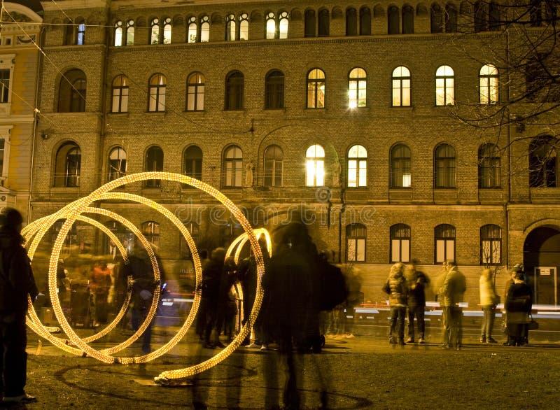 Latvia, Riga 90th foto de stock royalty free