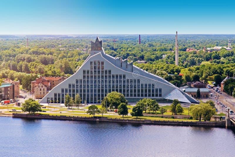 Latvian krajowa biblioteka zdjęcia stock