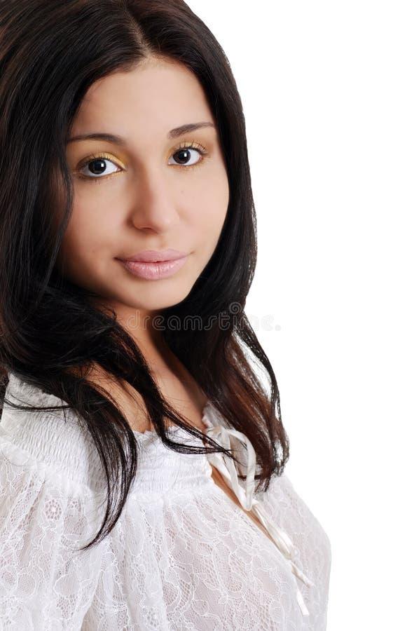 latynosa koronki odgórna target396_0_ kobieta fotografia stock