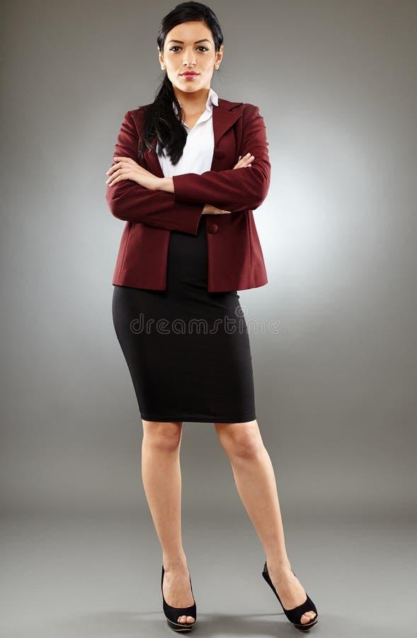 Latynoska biznesowa dama zdjęcie stock