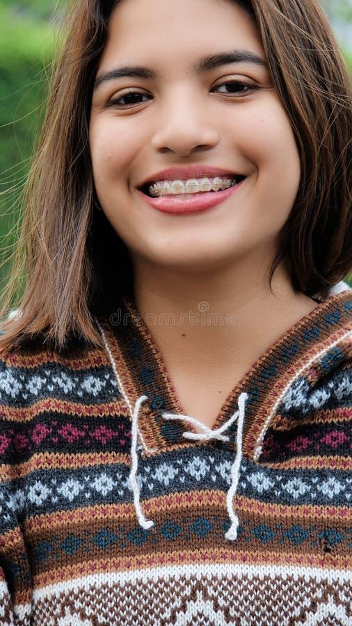 Latynoska młoda osoba fotografia royalty free