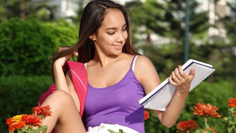 Latynoski nastolatka uczeń zdjęcie stock