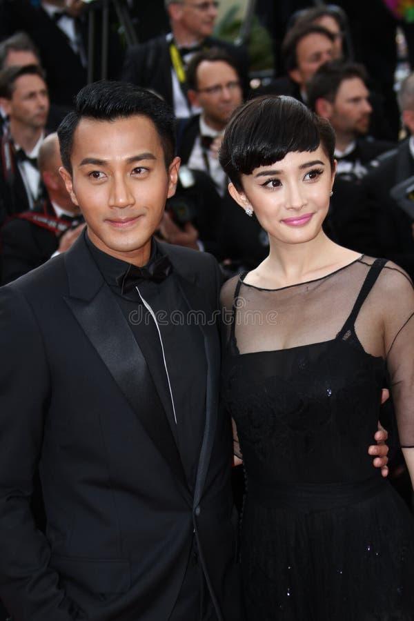 lau mi yang hawick актрисы актера китайское стоковые изображения