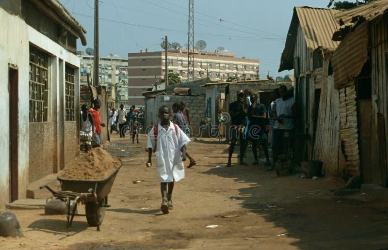 Lauanda, Angola royalty-vrije stock fotografie