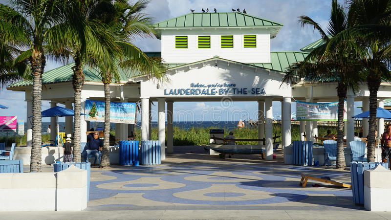 Lauderdale-by-the-Sea in Florida. USA royalty free stock images