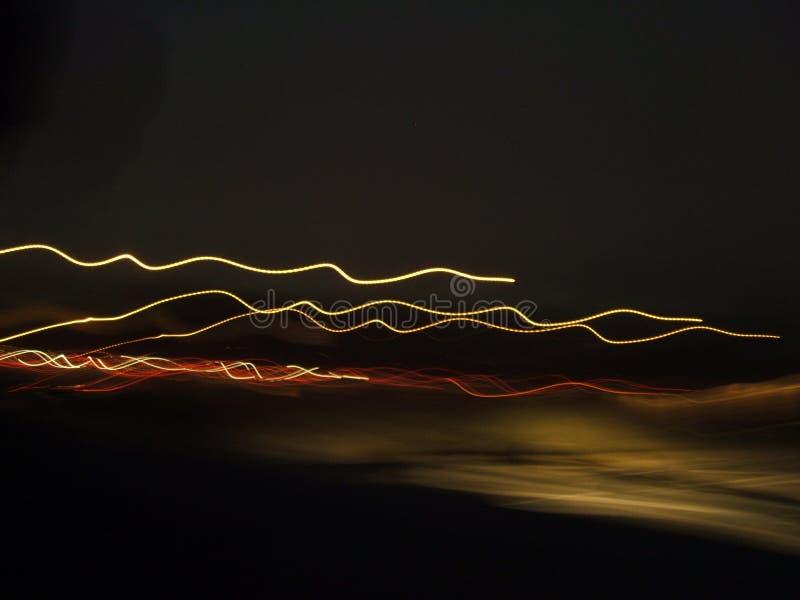 Laufen der Leuchten stockfoto