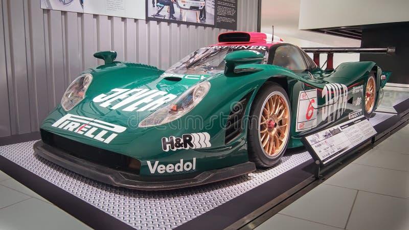 1998 Laufen Porsche-911 GT1 Zakspeed lizenzfreies stockbild