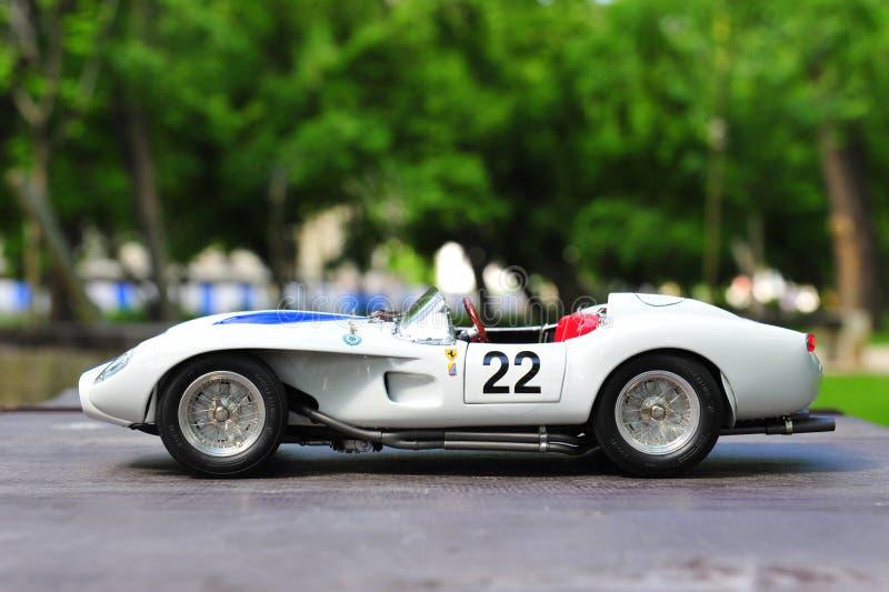 Laufende Motor- linke Seitenansicht des Ferrari-Testa Rossa-Ponton-Fenders stockbilder
