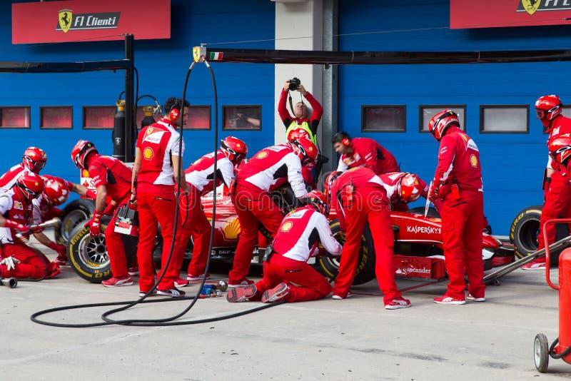 Laufende Tage Ferraris lizenzfreies stockbild