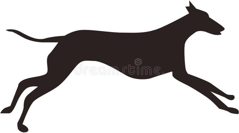 Laufender Hund vektor abbildung
